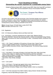 Hinkley conference agenda_March2015
